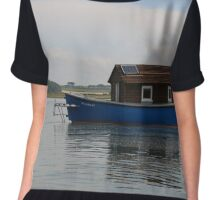 The Blue Boat House Chiffon Top