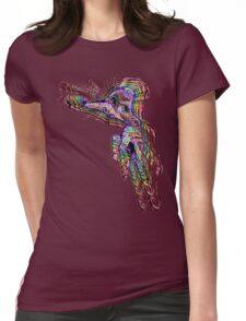 Handsel Fingertoes Becomes ONE Womens Fitted T-Shirt