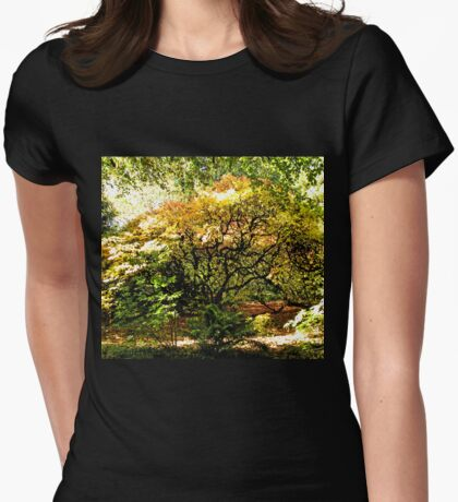 Natures Beautiful Autumn Colours..... Womens Fitted T-Shirt