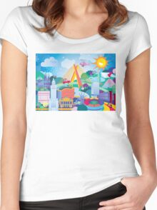 We Love SP Women's Fitted Scoop T-Shirt