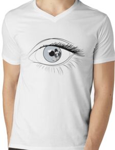 Eye Spy Batgirl Mens V-Neck T-Shirt