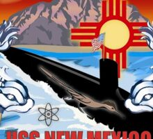 SSN-779 USS New Mexico Logo Sticker