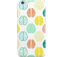 Multi-colored brains of very smart people. iPhone Case/Skin