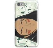 mint garden iPhone Case/Skin