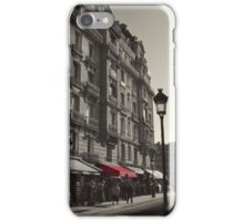 The Red Awning iPhone Case/Skin
