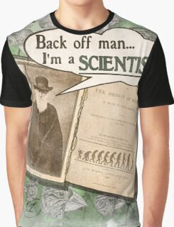 Popular Science: Charles Darwin (distressed) Graphic T-Shirt