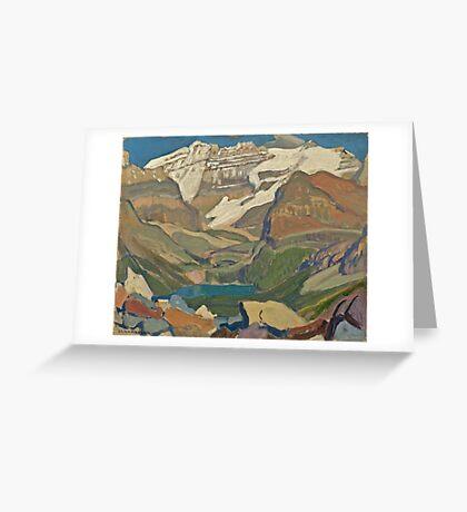Vintage famous art - James Edward Hervey Macdonald - Lake O Hara Greeting Card