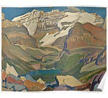 Vintage famous art - James Edward Hervey Macdonald - Lake O Hara Poster