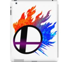 SSB Wii U/3DS Logo iPad Case/Skin
