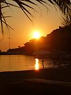 Beach Sunset - Limnos, Greece by Vicki Spindler (VHS Photography)