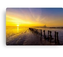Sun is Up Canvas Print