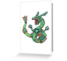 Pokemon - Rayquaza Greeting Card