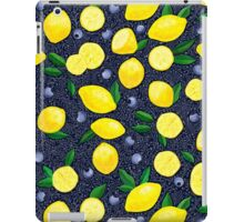 Lemon Blueberry Tart iPad Case/Skin