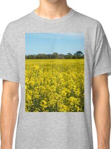 Yellow Rapeseed Field Classic T-Shirt