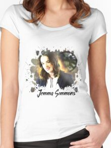 Jemma Simmons Appreciation Design  Women's Fitted Scoop T-Shirt