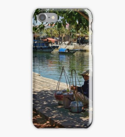 People in a street iPhone Case/Skin