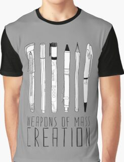Weapons Of Mass Creation (on grey) Graphic T-Shirt