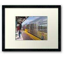 Arcadia Metro Station Framed Print