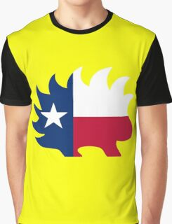 Texas Libertarian Party Porcupine Graphic T-Shirt