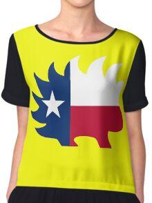 Texas Libertarian Party Porcupine Chiffon Top