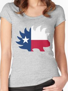 Texas Libertarian Party Porcupine Women's Fitted Scoop T-Shirt