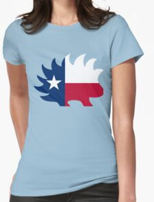 Texas Libertarian Party Porcupine Womens Fitted T-Shirt