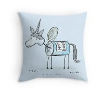 The Unican Throw Pillow