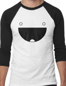 The Mark Of Happiness Men's Baseball ¾ T-Shirt