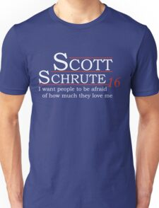 Scott Schrute for President Unisex T-Shirt