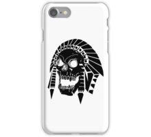 Skull gaze iPhone Case/Skin