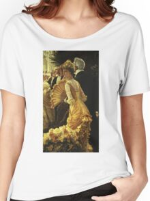 Vintage famous art - James Tissot - The Ball Women's Relaxed Fit T-Shirt