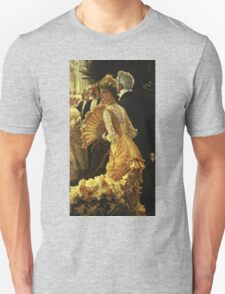 Vintage famous art - James Tissot - The Ball Unisex T-Shirt