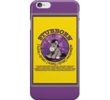 Stubborn Donkey Plush (yellow)  iPhone Case/Skin