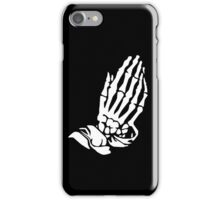 Very Rare Bones (white on black) iPhone Case/Skin