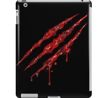 Swirly Claw Marks iPad Case/Skin