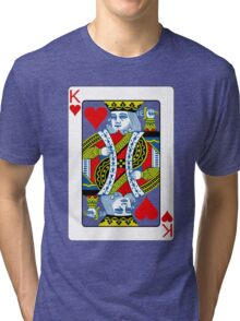 King of hearts Tri-blend T-Shirt