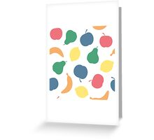 Pattern with fruit Greeting Card