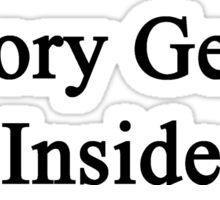 History Genius Inside  Sticker