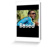 basedgod lil b Greeting Card