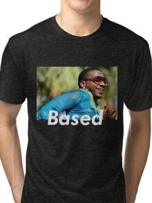 basedgod lil b Tri-blend T-Shirt