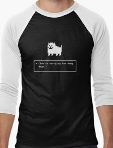 You are carrying too many dogs annoying dog Men's Baseball ¾ T-Shirt