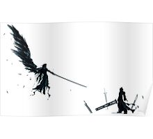 One Winged Angel - Sephiroth - Cloud Strife - Final Fantasy Poster