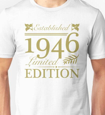 Established 1946 Unisex T-Shirt