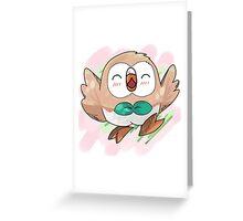 Rowlet Greeting Card