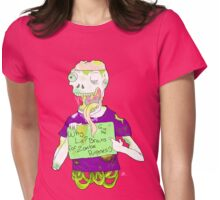 Paste Zombie 3 Womens Fitted T-Shirt