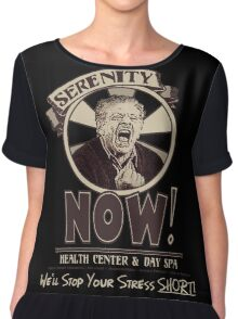 Serenity NOW Health Center & Day Spa Chiffon Top