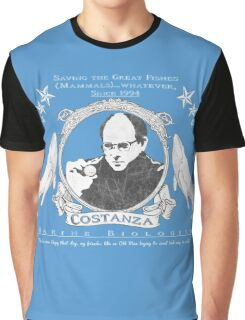 Costanza- Marine Biologist Graphic T-Shirt
