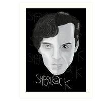 Sherlock V Moriarty Art Print