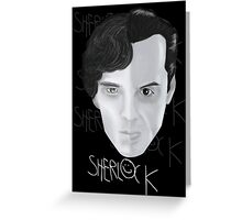 Sherlock V Moriarty Greeting Card