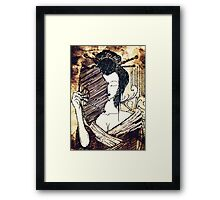 The Geisha - Timeless Enchanting Japanese Art Framed Print